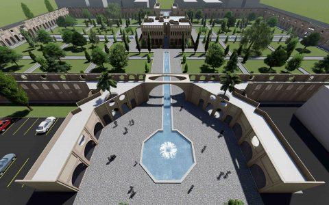 طراحی باغ بهارخسرو با هدف احیاء الگوی باغ ایرانی